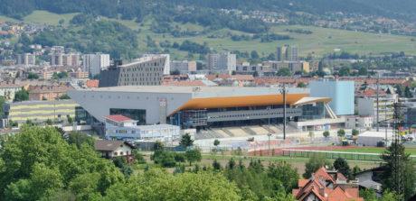 In Innsbruck findet der Test in der Olympiahalle statt